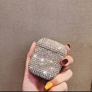 Diamond AirPods bling case